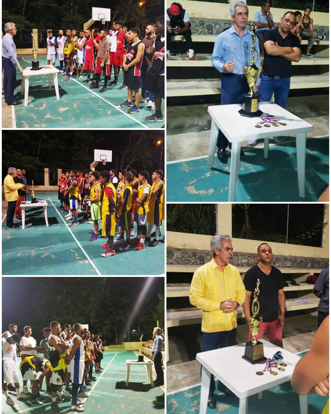 El Ayuntamiento de Sabana Iglesia da inicio a los encuentros navideños en las diferentes categorías de deporte en el municipio.